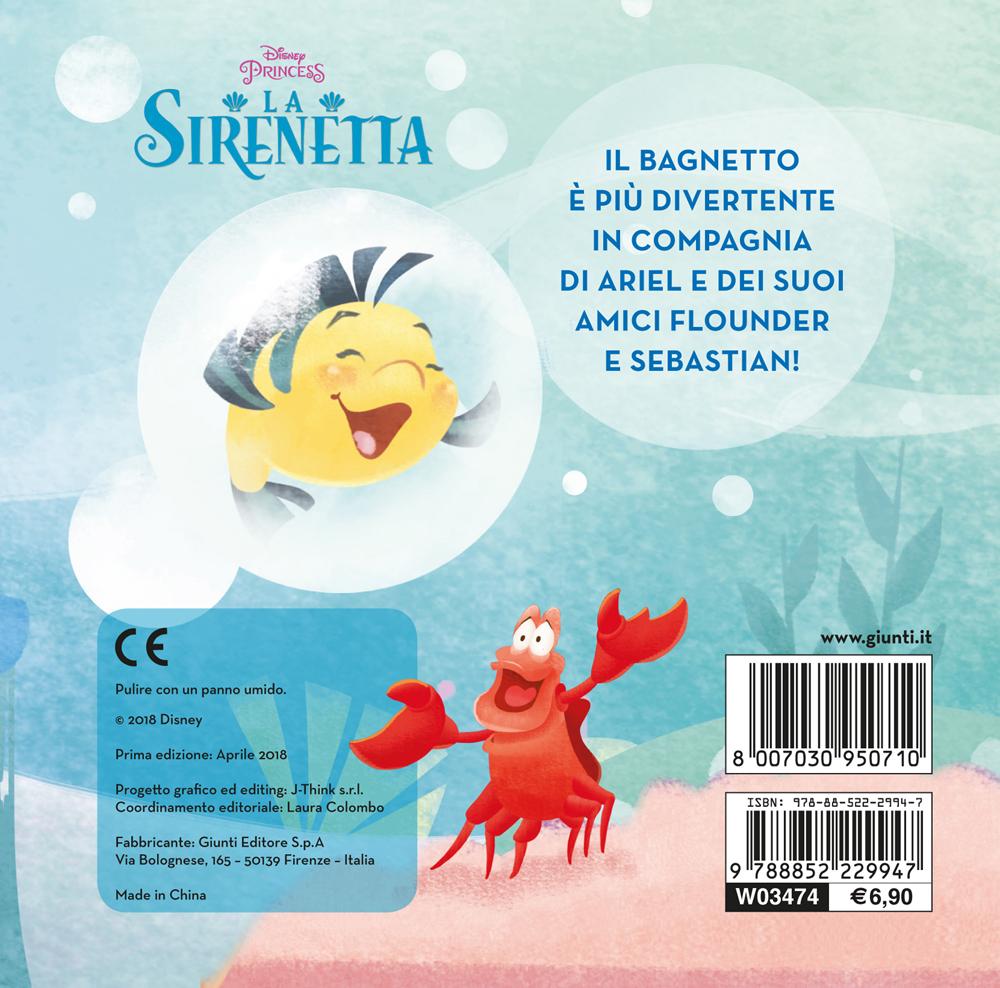 Il libro bagnetto - La Sirenetta
