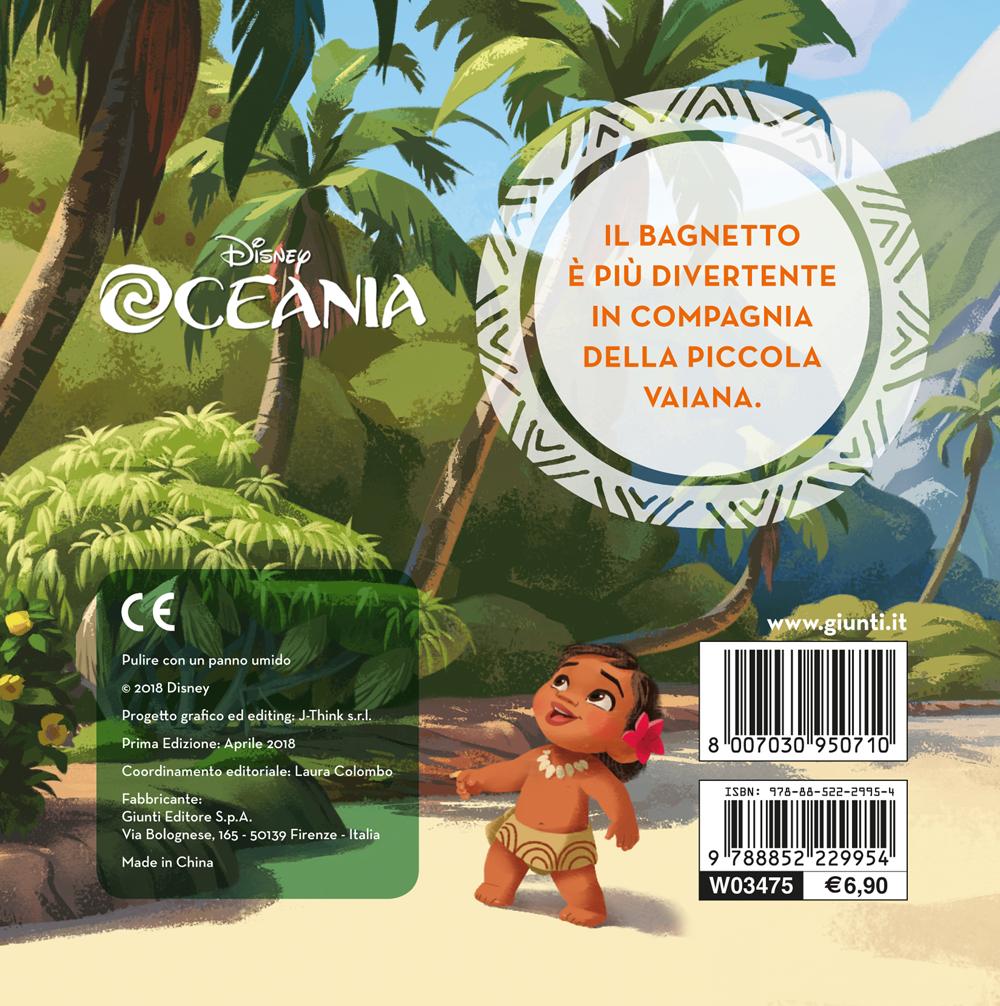 Il libro bagnetto - Oceania