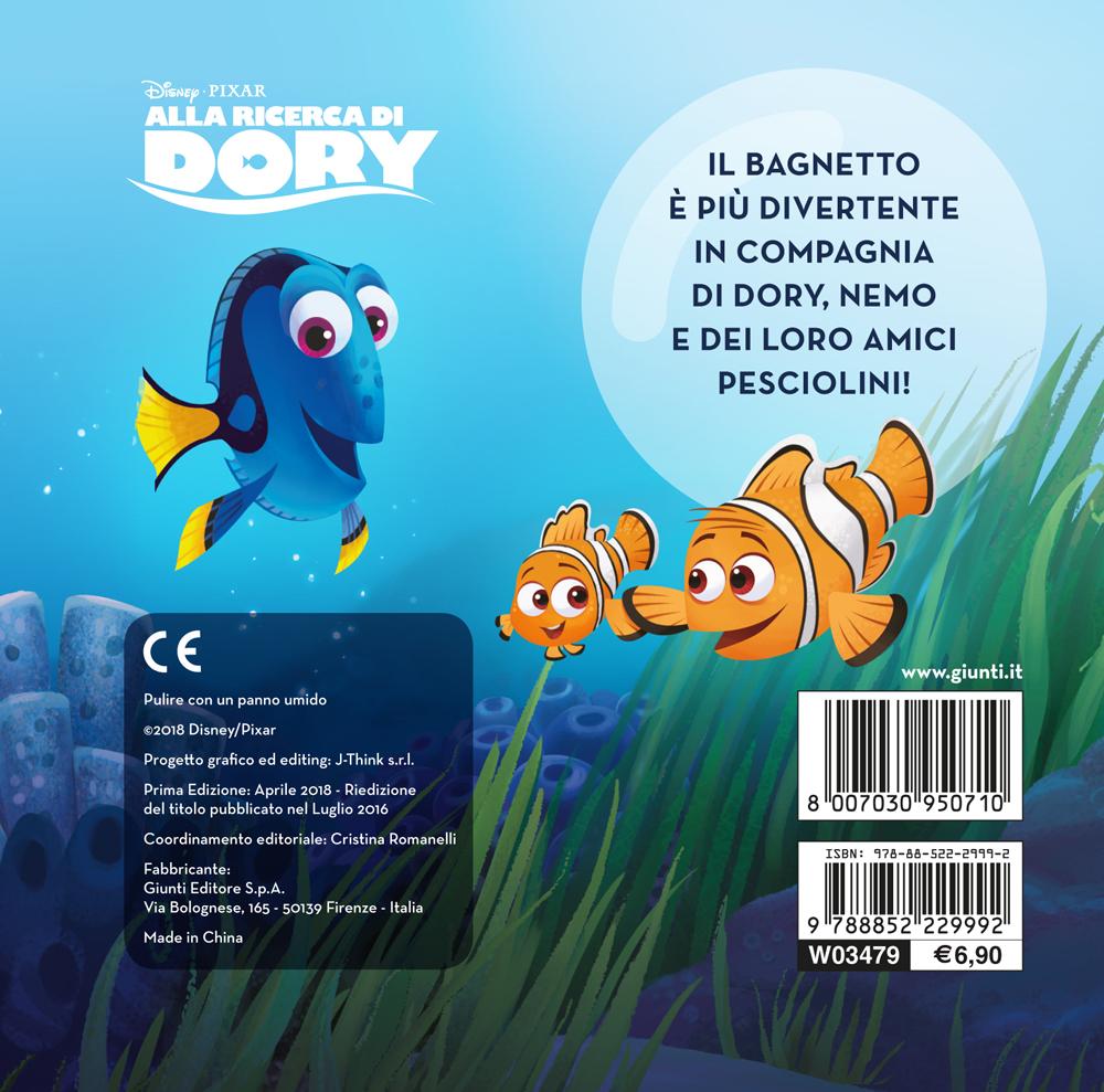 Il libro bagnetto - Alla ricerca di Dory