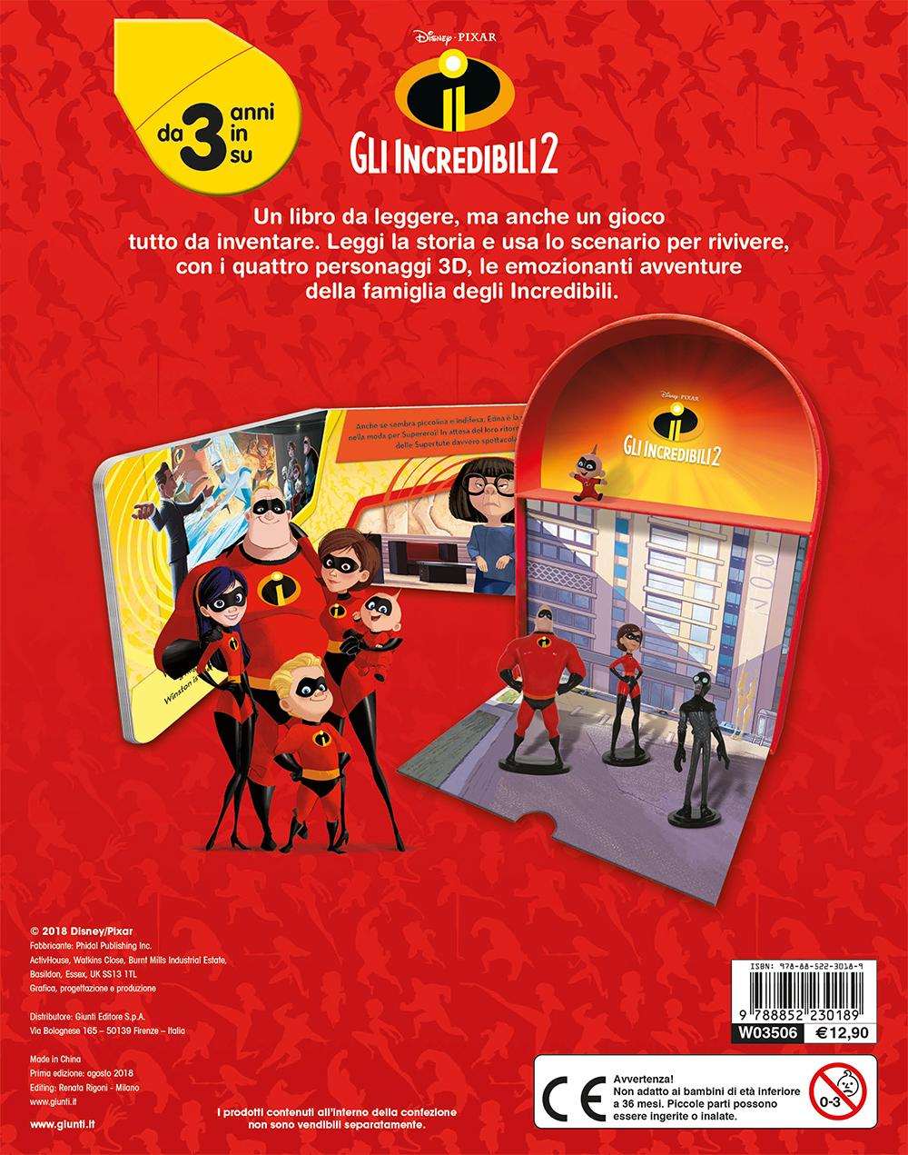 Gli Incredibili 2 - LibroGiocaKit