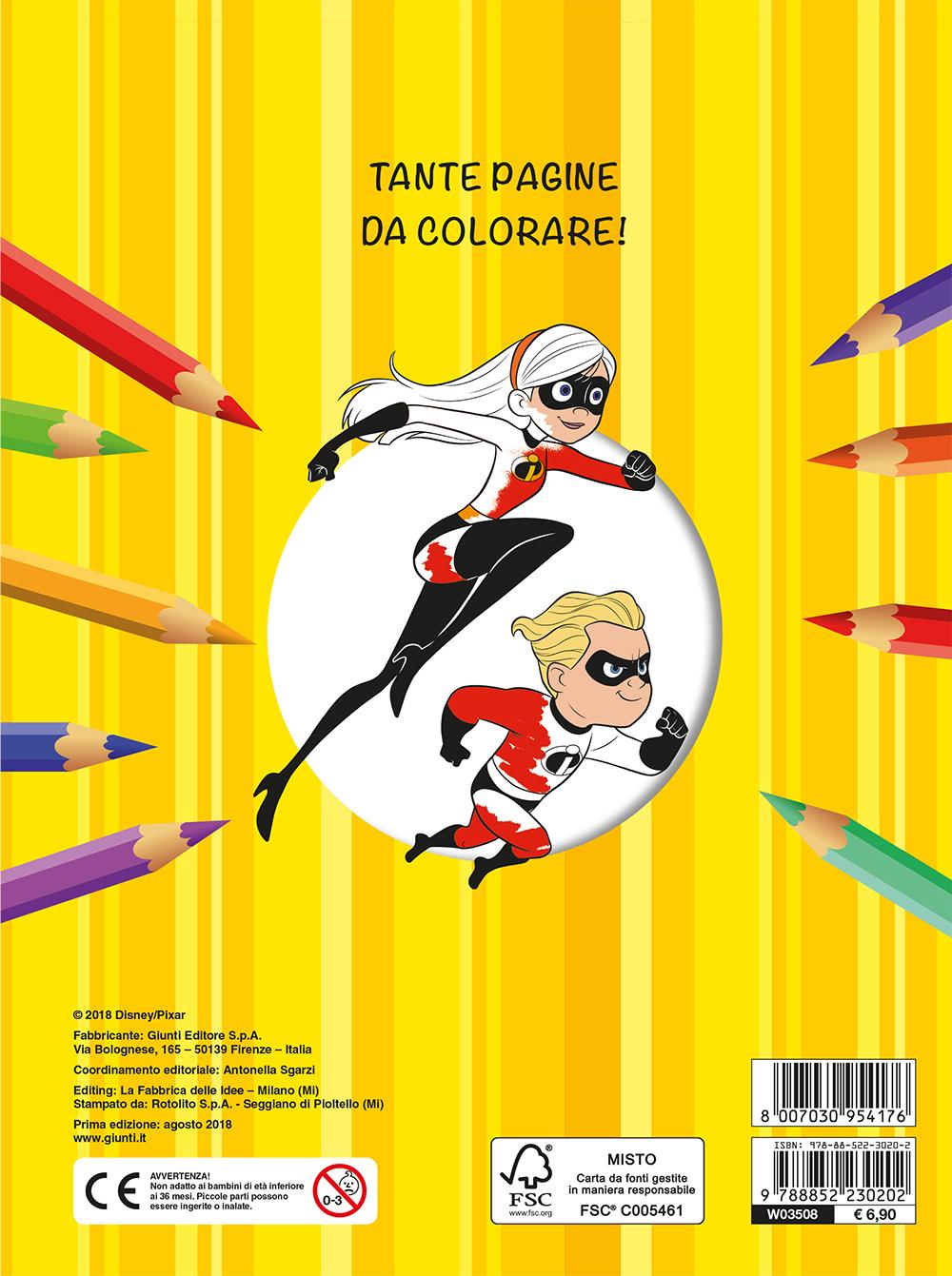 Maxi Supercolor - Gli Incredibili 2