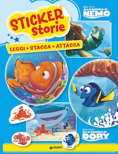 Sticker Storie - Disney Pixar. Alla ricerca di Nemo/Alla ricerca di Dory