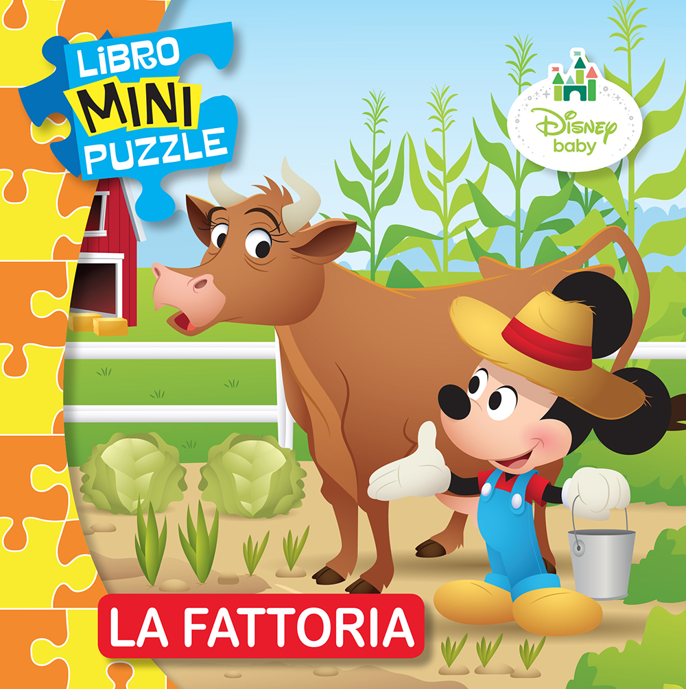 Libro Mini Puzzle - Disney Baby. La Fattoria