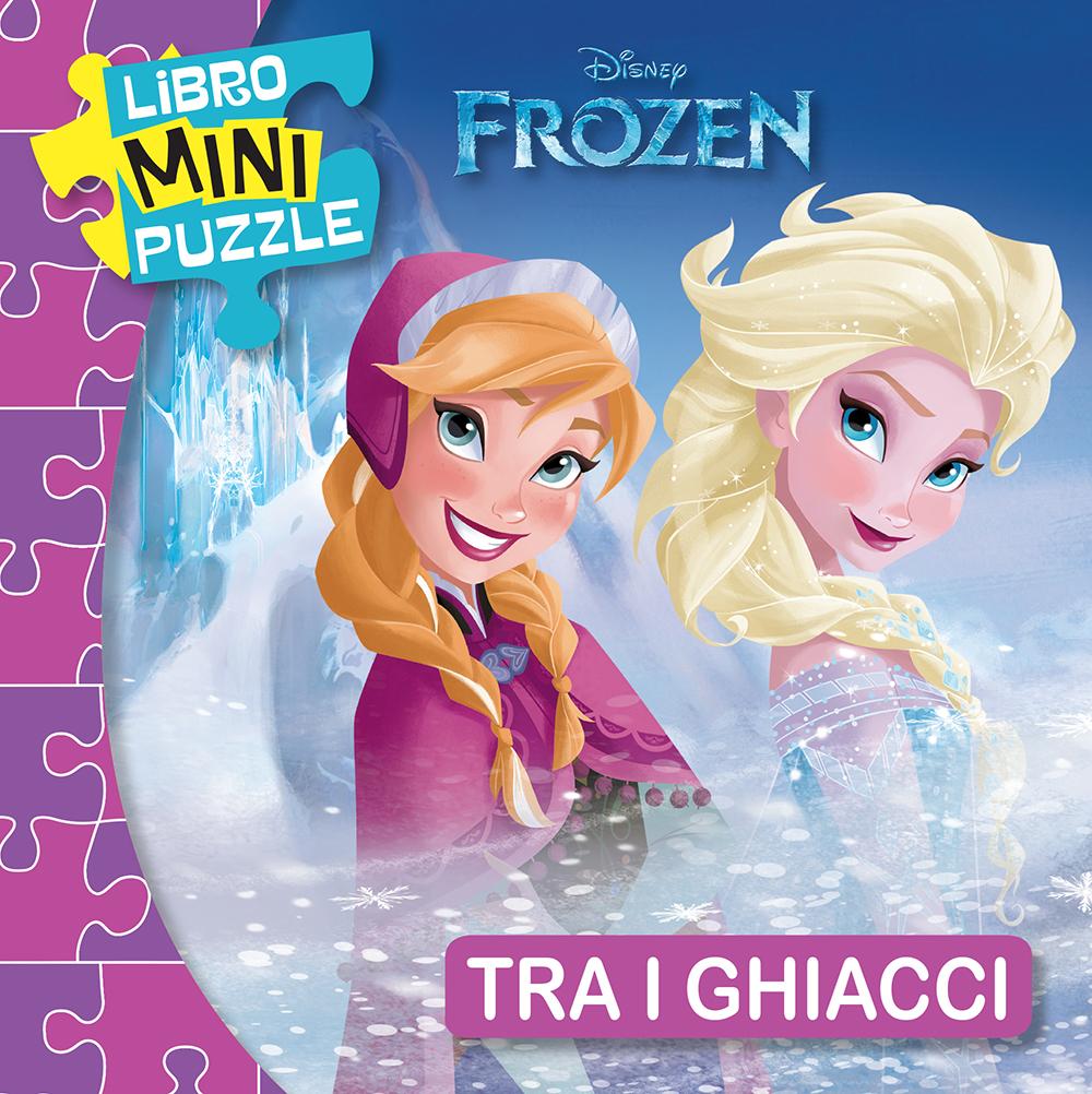 Libro Mini Puzzle - Frozen. Tra i ghiacci