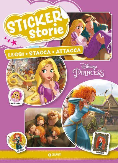 Sticker Storie - Principesse. Rapunzel/Ribelle