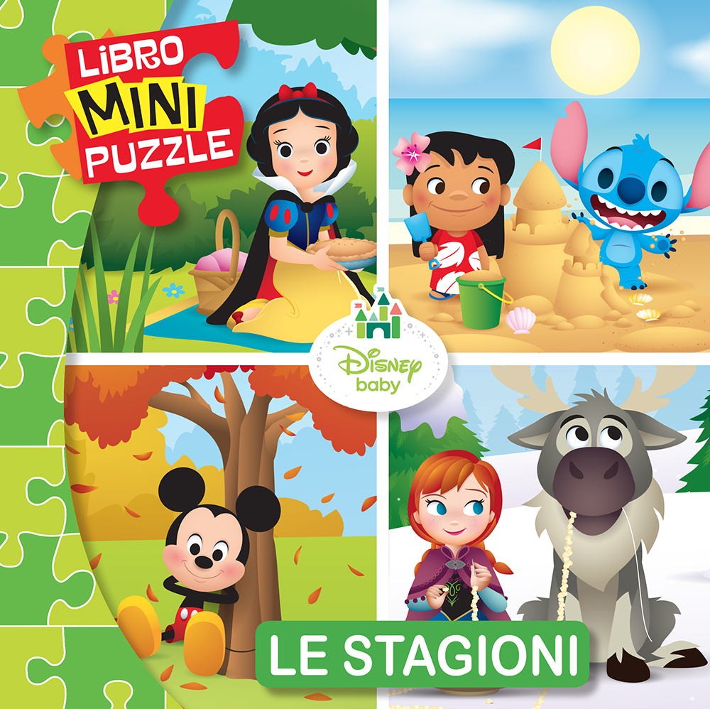 Libro Mini Puzzle - Disney Baby. Le Stagioni