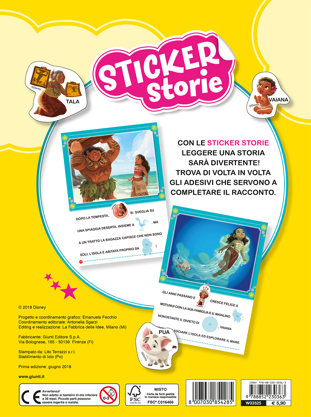Sticker Storie - Oceania