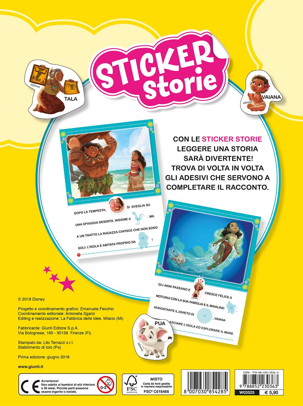 Sticker Storie - Oceania