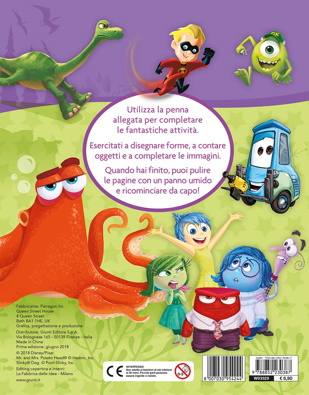 Scrivi Cancella Riscrivi - Disney Pixar