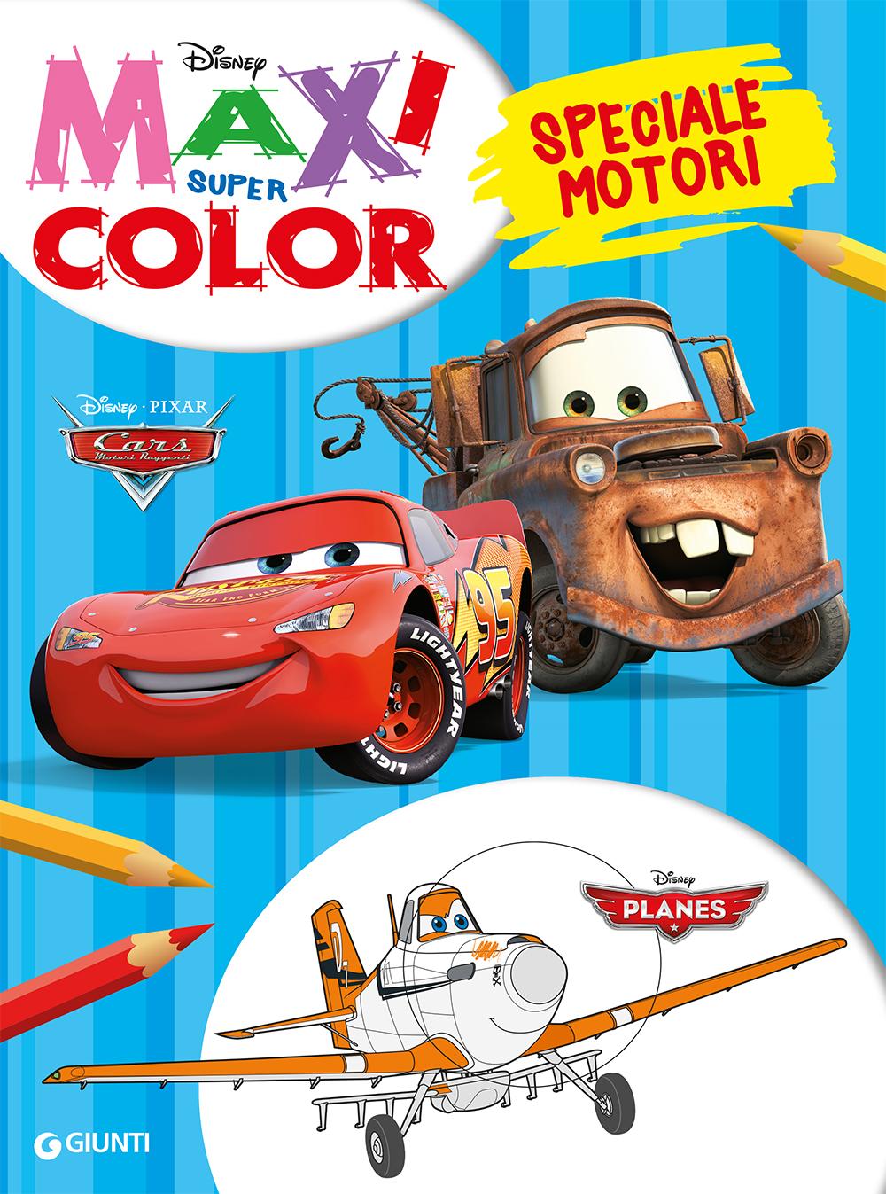 Maxi Supercolor - Planes/Cars. Speciale motori
