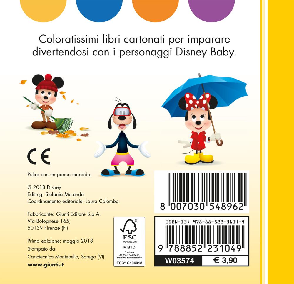 I Miei Primi Librottini - Disney Baby. Mi vesto così!