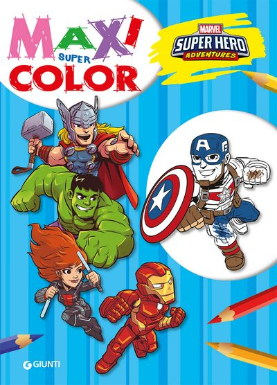 Maxi Supercolor - Marvel. Super Hero Adventures