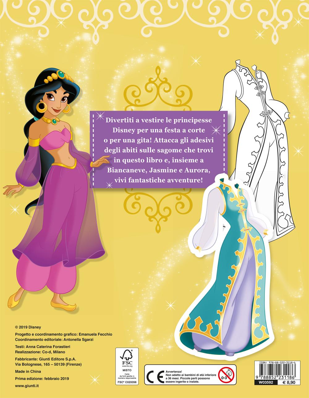 Gioca con la moda - Principesse. Abiti da sera