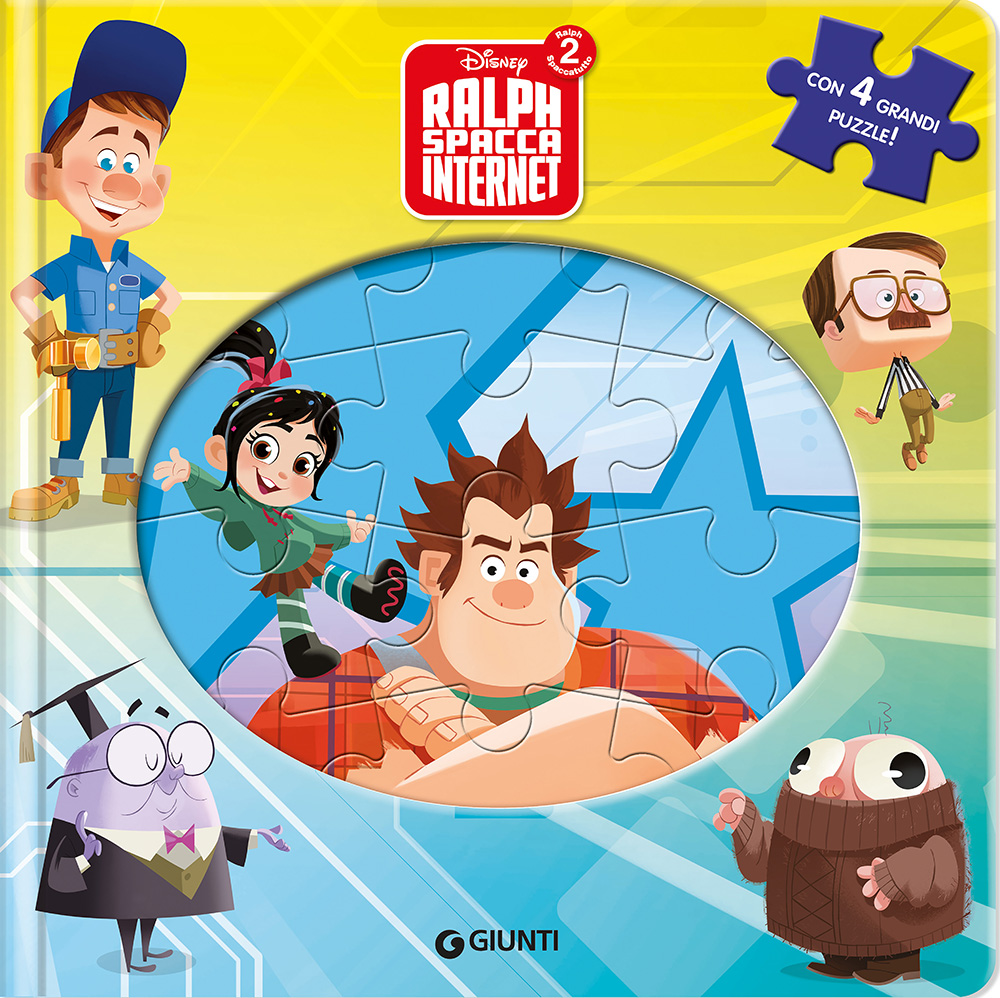 Libri Puzzle - Ralph Spacca Internet
