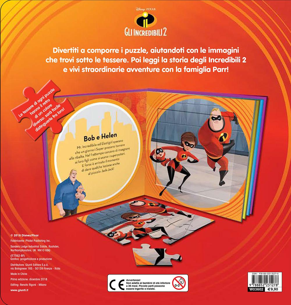 Libri Puzzle - Gli Incredibili 2