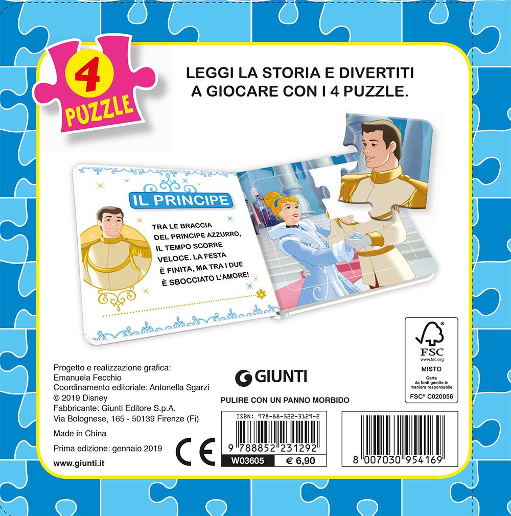 Libro Mini Puzzle - Principesse. Cenerentola