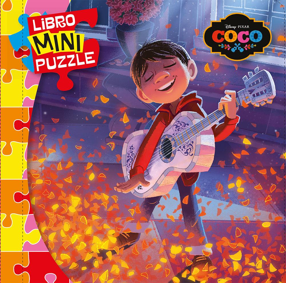 Libro Mini Puzzle - Coco