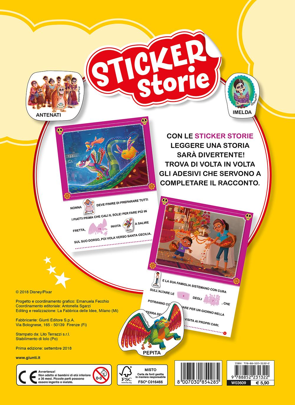 Sticker Storie - Coco