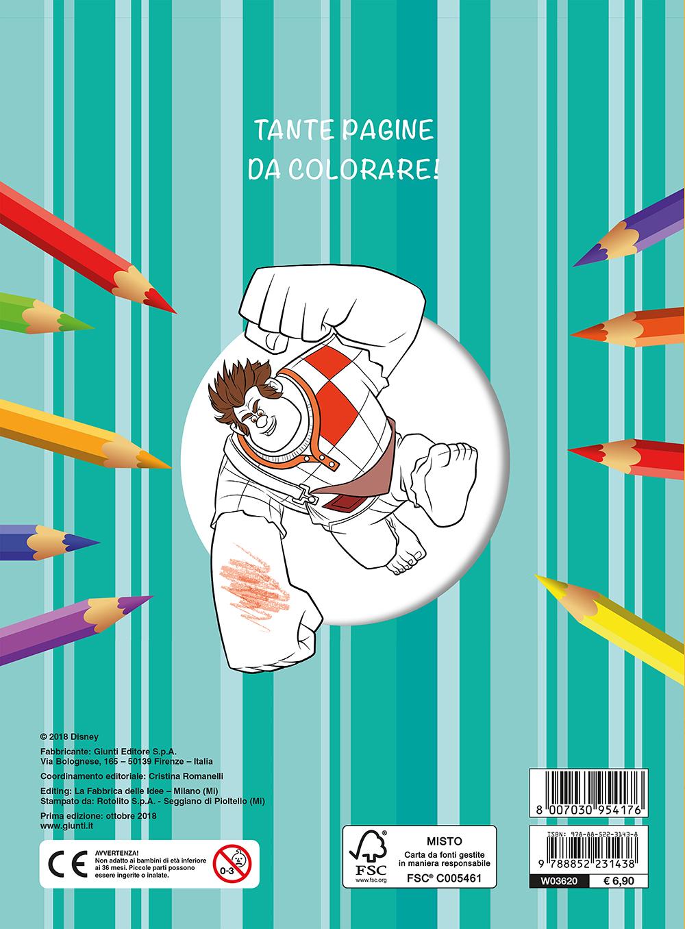 Maxi Supercolor - Ralph Spaccatutto