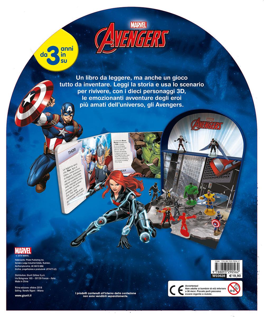Maxi LibroGiocaKit - Avengers