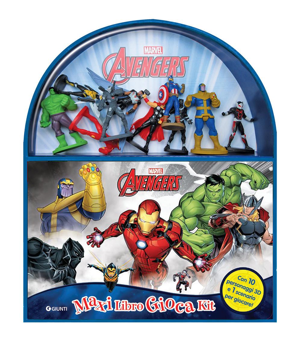 Avengers - Maxi LibroGiocaKit