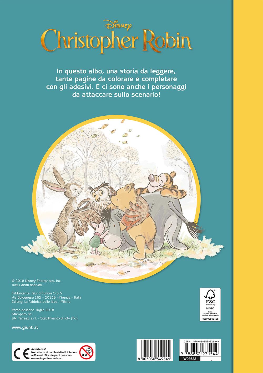 Christopher Robin (Il film) - Staccattacca&Colora