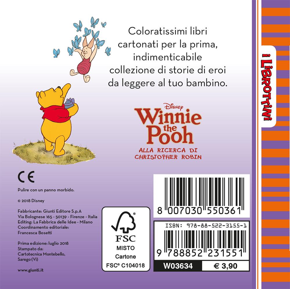 Winnie the Pooh - I Librottini - Alla ricerca di Christopher Robin