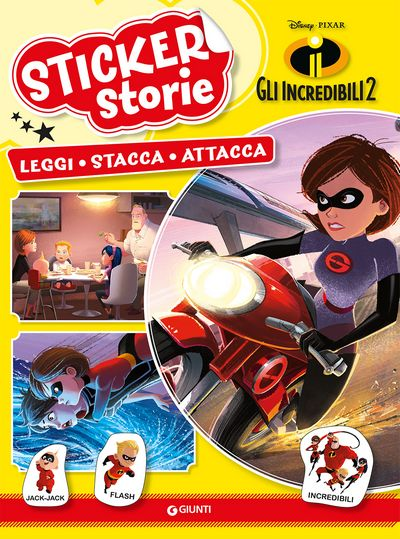 Sticker Storie - Gli Incredibili 2