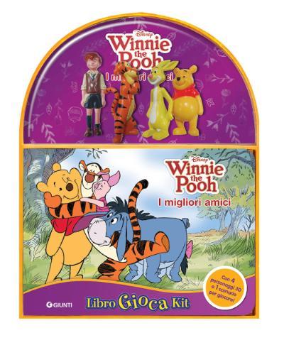 Winnie the Pooh - LibroGiocaKit - I migliori amici