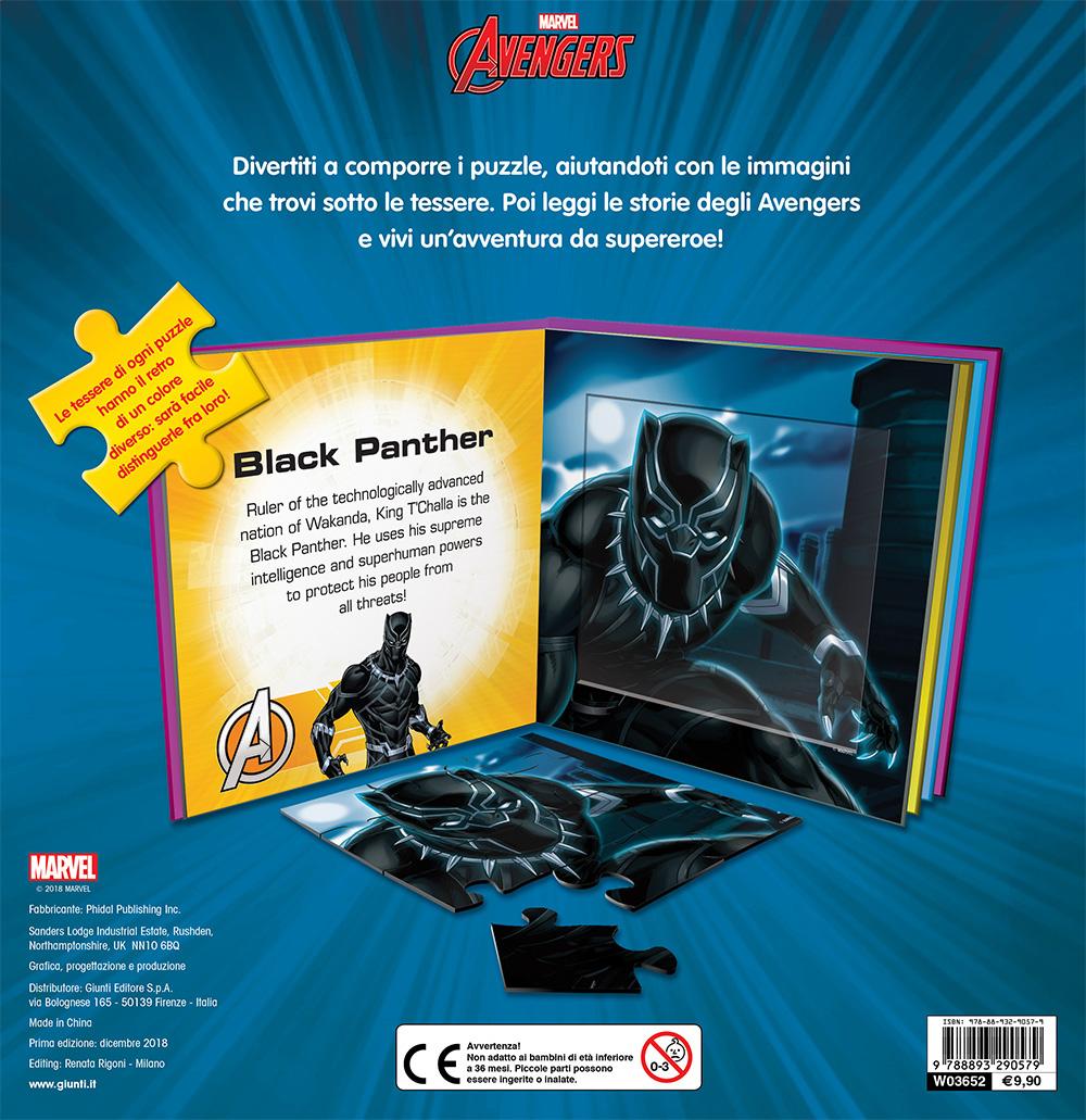 Libri Puzzle - Avengers