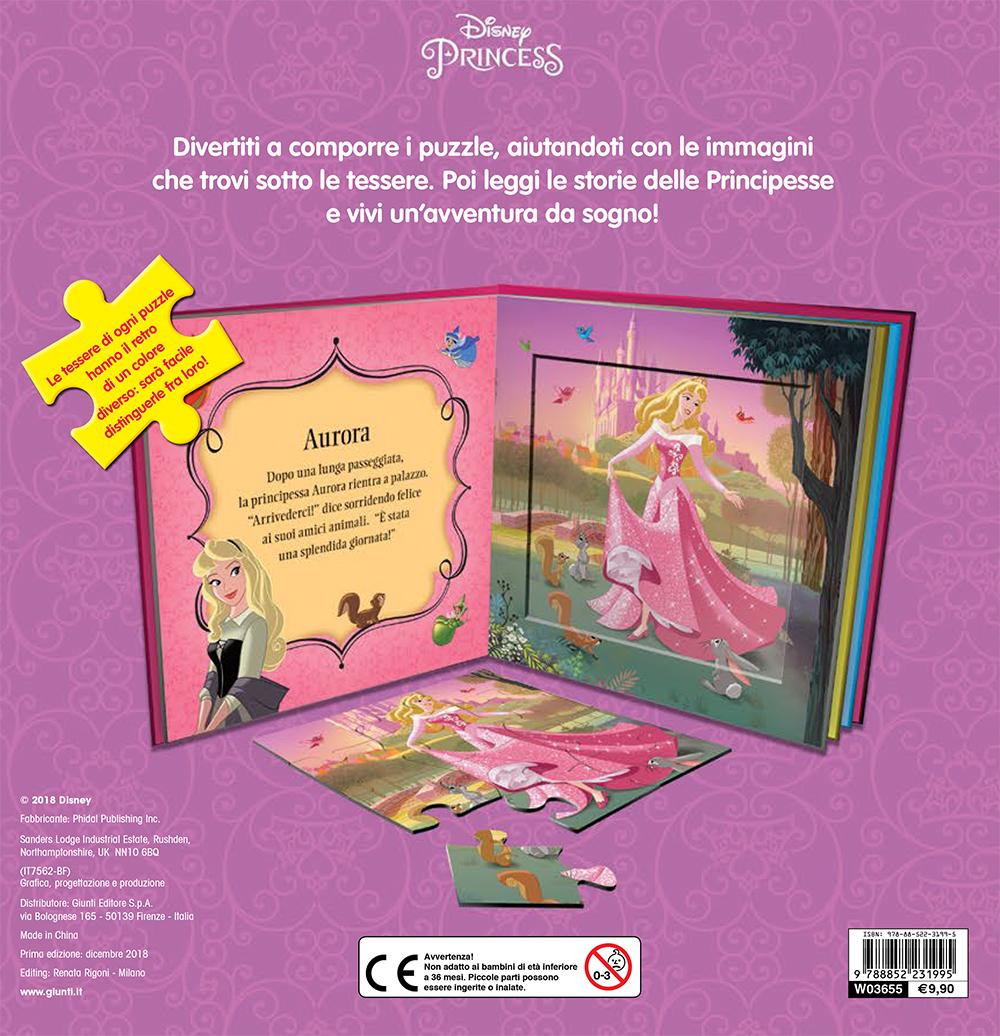 Libri Puzzle - Principesse