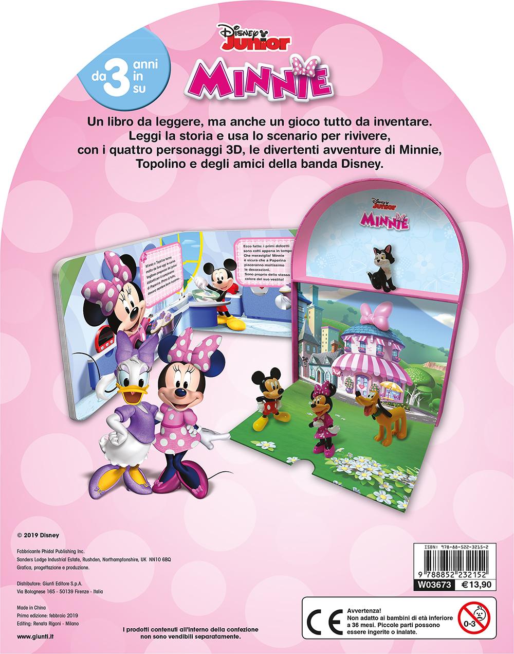 Minnie - LibroGiocaKit
