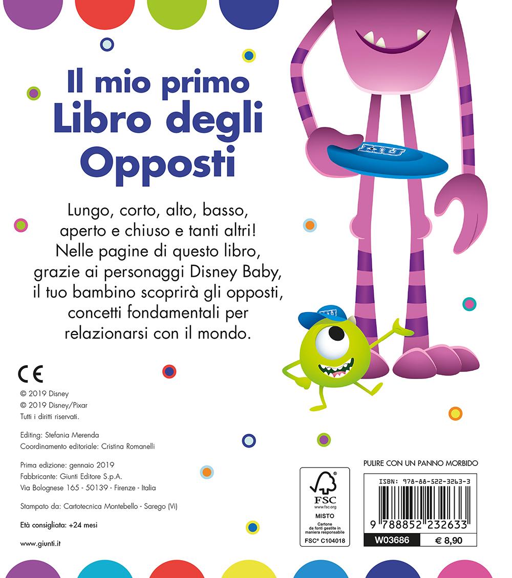 Disney Baby - Il mio primo libro degli opposti