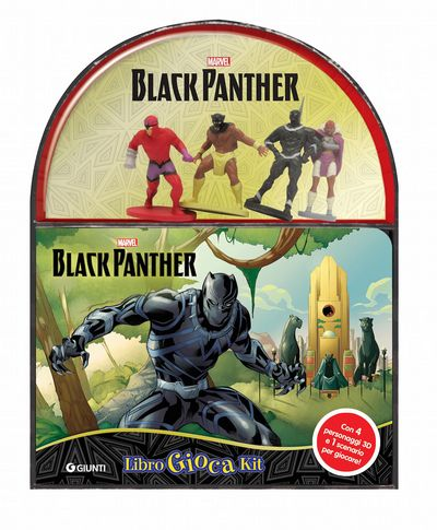 LibroGiocaKit - Marvel. Black Panther