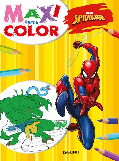 Maxi Supercolor - Spider-Man