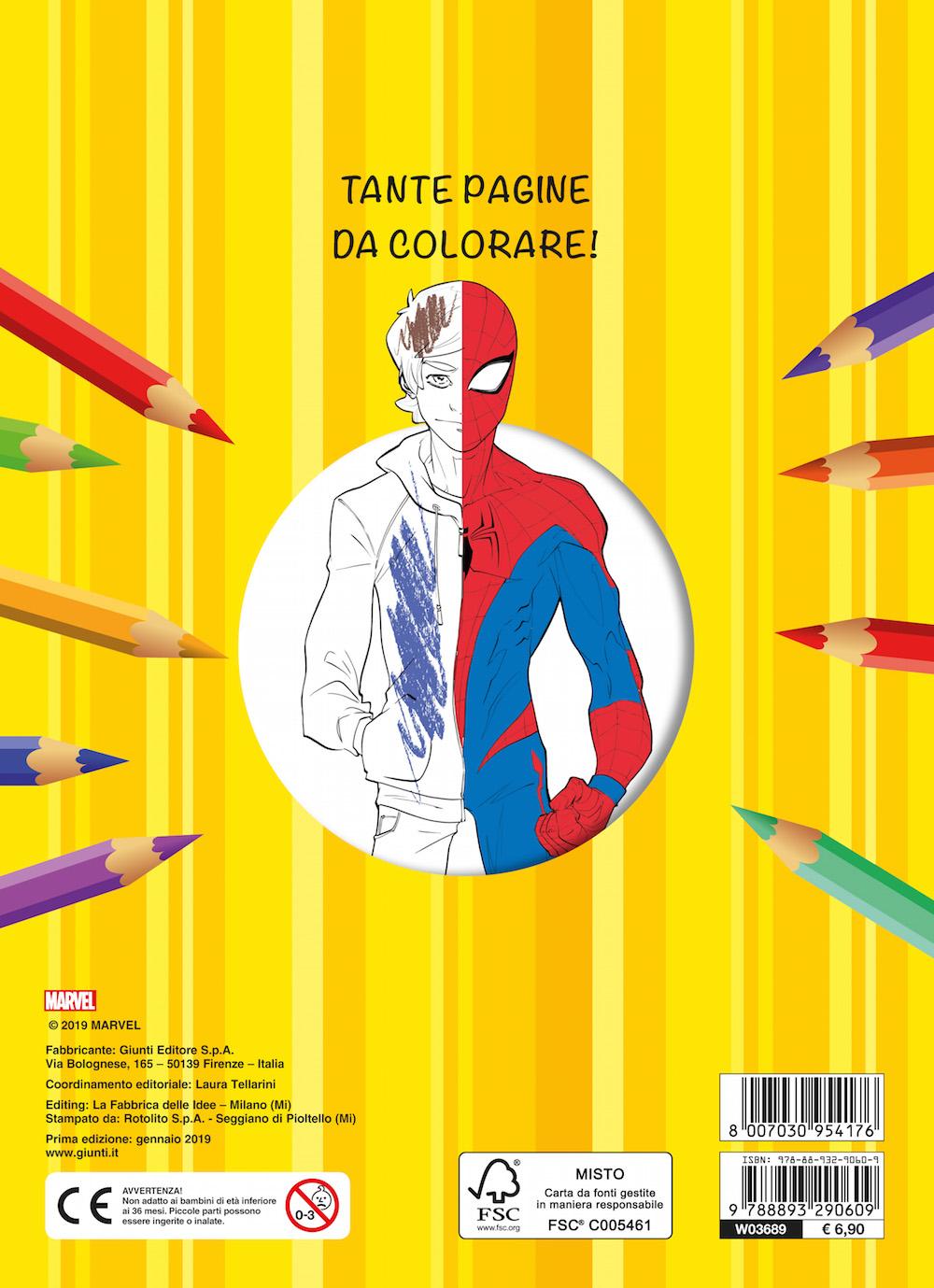 Maxi Supercolor - Spider-Man