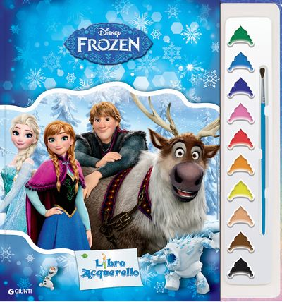 Libro Acquerello - Frozen