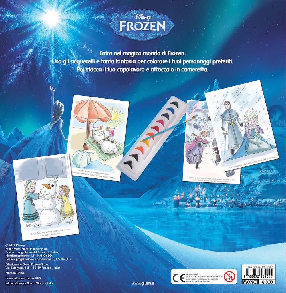 Libro Acquerello - Frozen