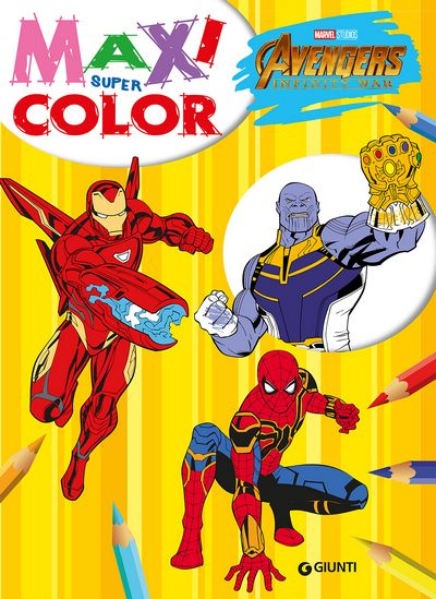 Maxi Supercolor - Avengers