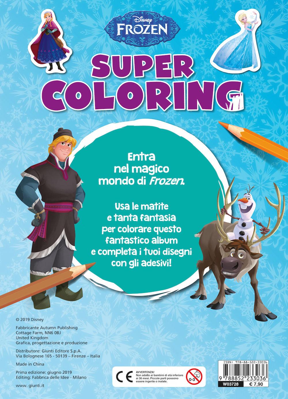 Super Coloring Frozen
