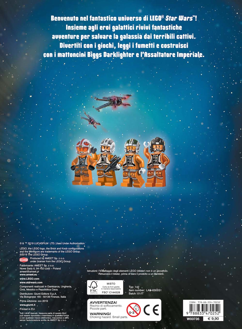 Super Album - Star Wars LEGO. Eroi della galassia