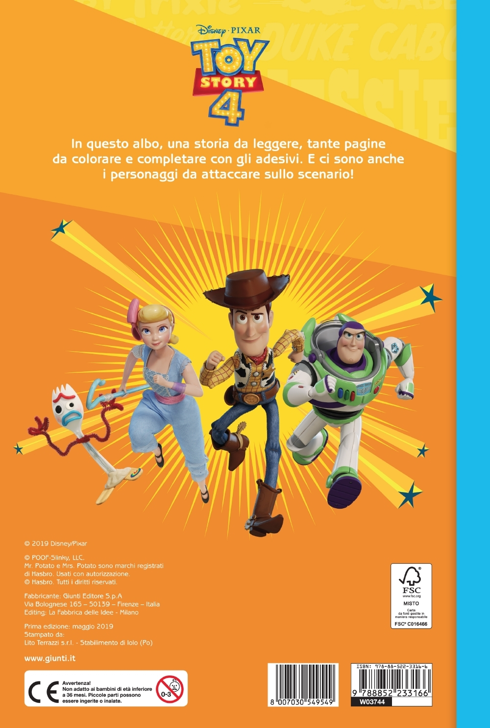 Staccattacca&Colora - Toy Story 4
