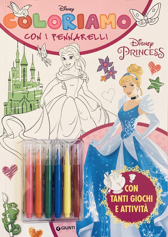 Coloriamo con i pennarelli - Principesse