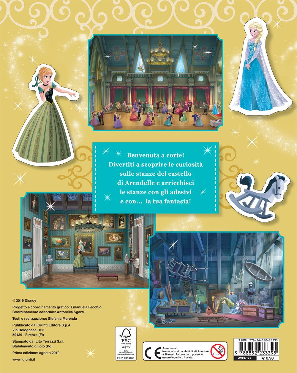 Gioca con la moda - Gioca nel Castello. Frozen