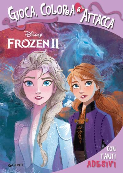 Attacca le Principesse - Frozen 2. Gioca, Colora e Attacca