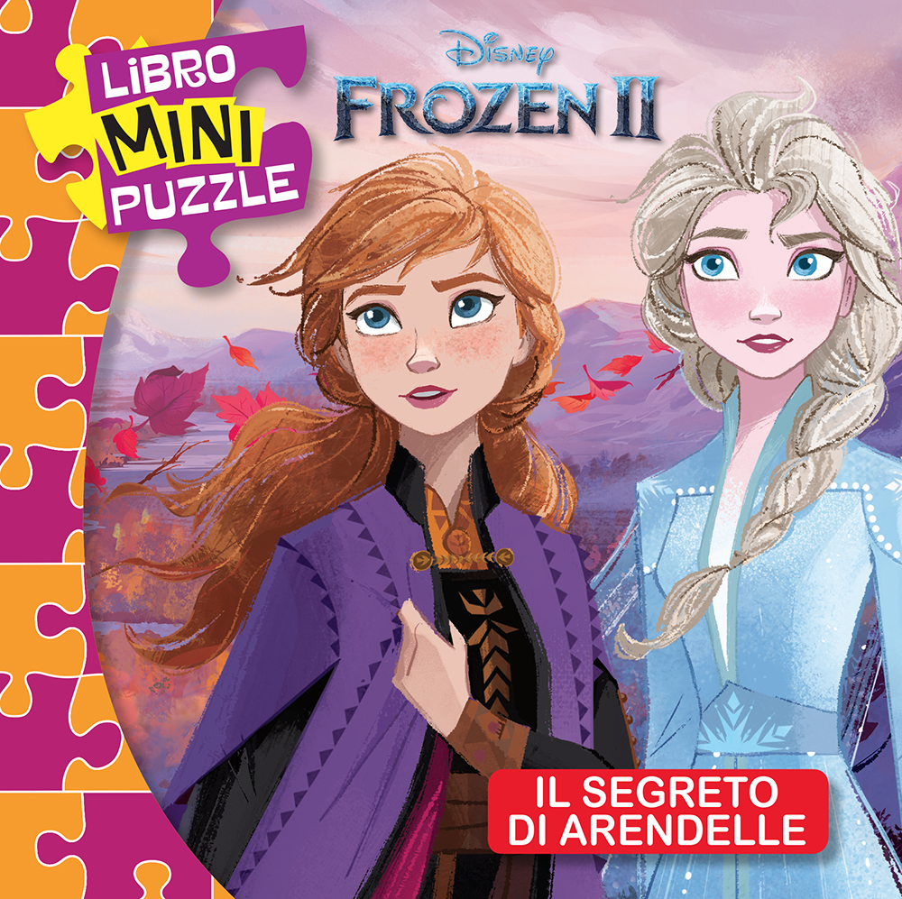 Libro Mini Puzzle - Frozen 2