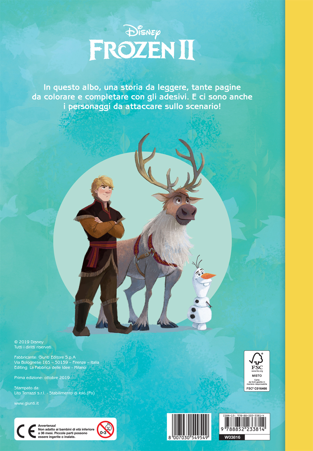 Frozen 2 - Staccattacca&Colora