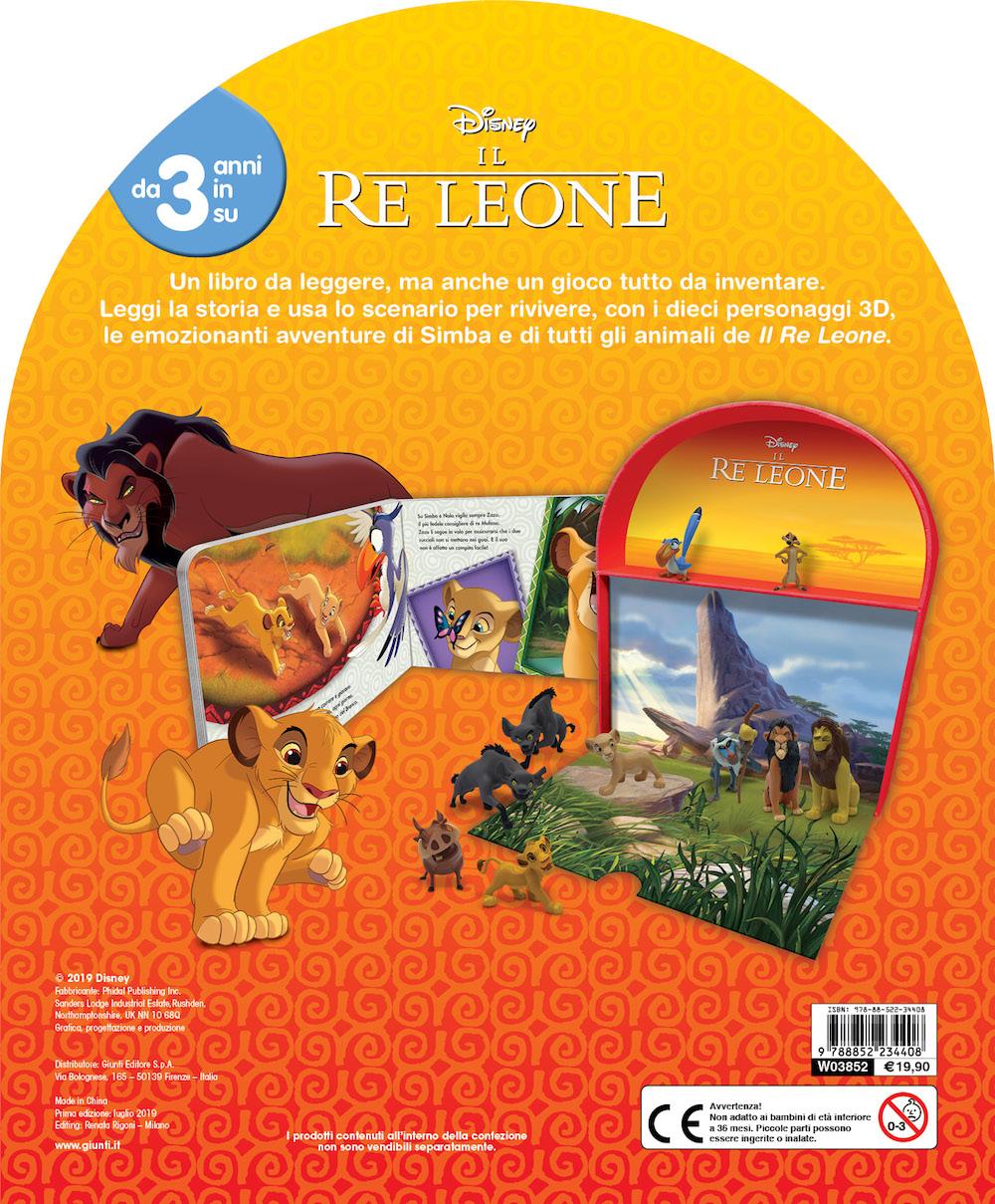 Il Re Leone - Maxi LibroGiocaKit