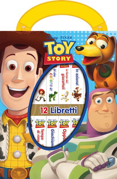 La mia mini libreria - Toy Story
