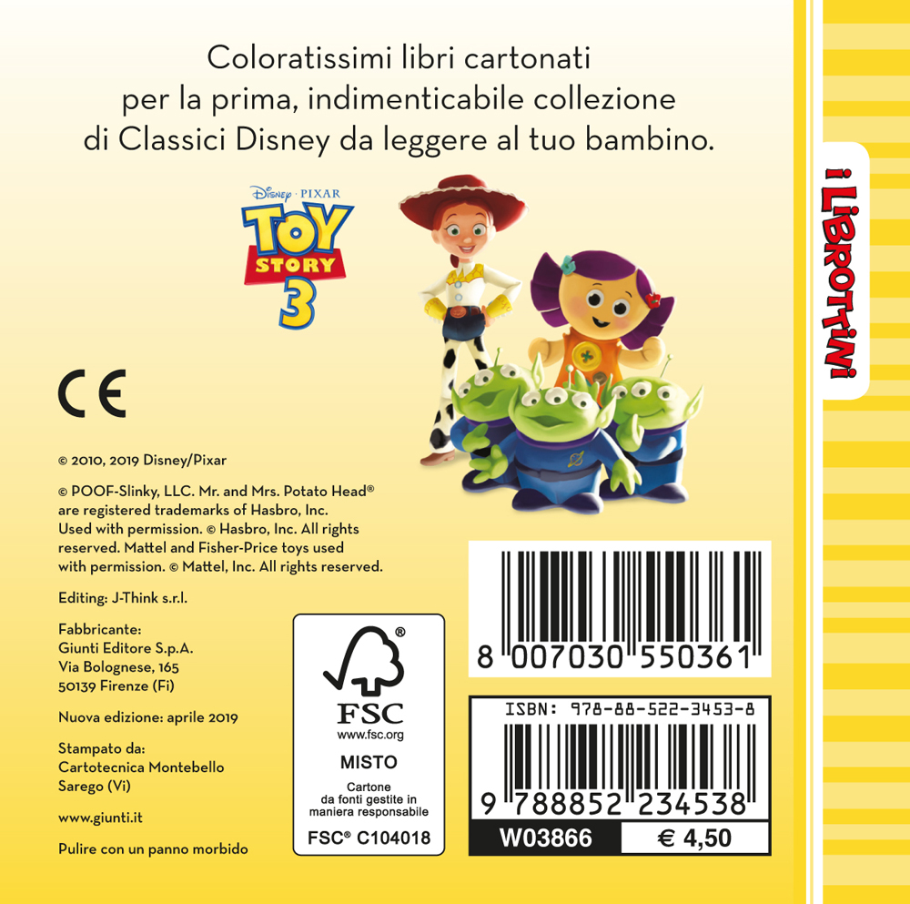 Toy Story 3 - I Librottini